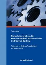 Cover-Bild Sicherheitsverfahren für Girokonten beim Massenverkehr im Internet-Banking