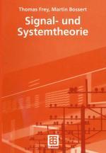 Cover-Bild Signal- und Systemtheorie