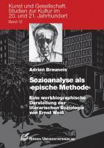 Cover-Bild Sozioanalyse als 'epische Methode'
