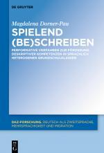 Cover-Bild Spielend (be)schreiben