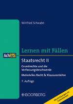 Cover-Bild Staatsrecht II