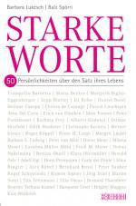 Cover-Bild Starke Worte