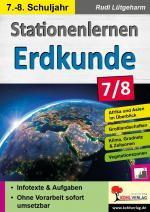 Cover-Bild Stationenlernen Erdkunde / Klasse 7-8