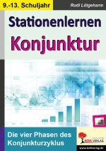 Cover-Bild Stationenlernen Konjunktur