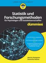 Cover-Bild Statistik und Forschungsmethoden für Psychologen und Sozialwissenschaftler für Dummies