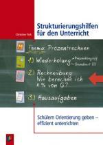 Cover-Bild Strukturierungshilfen für den Unterricht