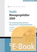 Cover-Bild Studie Managergehälter 2009 (E-Book)