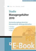 Cover-Bild Studie Managergehälter 2010 (E-Book)