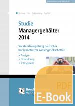 Cover-Bild Studie Managergehälter 2014 (E-Book)