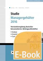 Cover-Bild Studie Managergehälter 2016 (E-Book)