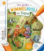 Cover-Bild tiptoi® Die große Wimmelreise der Tiere