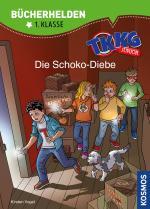 Cover-Bild TKKG Junior, Bücherhelden 1. Klasse, Die Schoko-Diebe