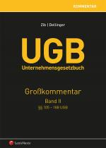 Cover-Bild UGB Großkommentar / UGB Unternehmensgesetzbuch Kommentar - Band II
