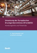 Cover-Bild Umsetzung der Druckgeräterichtlinie 2014/68/EU