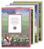 Cover-Bild Vier illustrierte Märchenklassiker: Aschenputtel, Dornröschen, Hänsel und Gretel, Schneewittchen