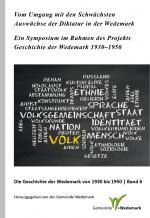 Cover-Bild Vom Umgang mit den Schwächsten. Auswüchse der Diktatur in der Wedemark