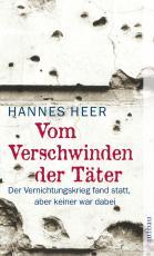 Cover-Bild Vom Verschwinden der Täter