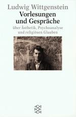 Cover-Bild Vorlesungen und Gespräche über Ästhetik, Psychoanalyse und religiösen Glauben
