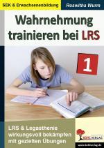 Cover-Bild Wahrnehmung trainieren bei LRS