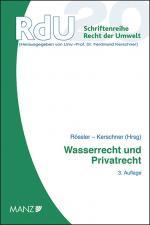 Cover-Bild Wasserrecht und Privatrecht