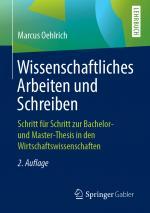 Cover-Bild Wissenschaftliches Arbeiten und Schreiben