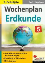 Cover-Bild Wochenplan Erdkunde / Klasse 5