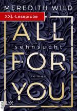 Cover-Bild XXL-Leseprobe: All for You – Sehnsucht
