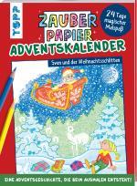 Cover-Bild Zauberpapier Adventskalender - Sven und der Weihnachtsschlitten