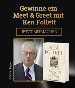 """Gewinnspiel Ken Follett """"Das Fundament der Ewigkeit"""""""