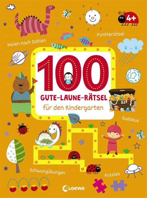 Cover-Bild 100 Gute-Laune-Rätsel für den Kindergarten
