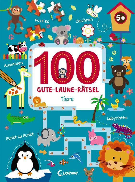 Cover-Bild 100 Gute-Laune-Rätsel - Tiere