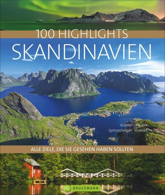 Cover-Bild 100 Highlights Skandinavien
