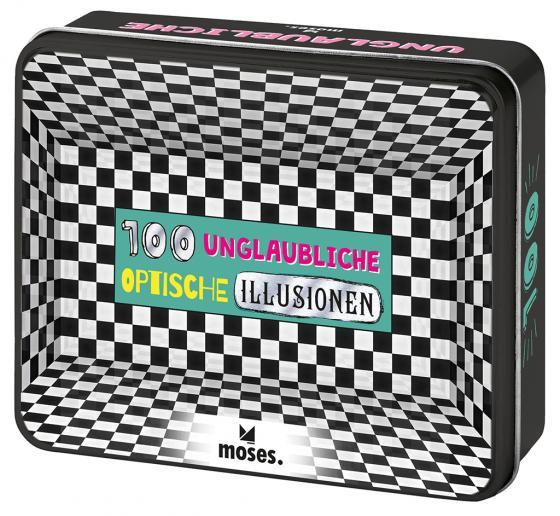 Cover-Bild 100 unglaubliche optische Illusionen