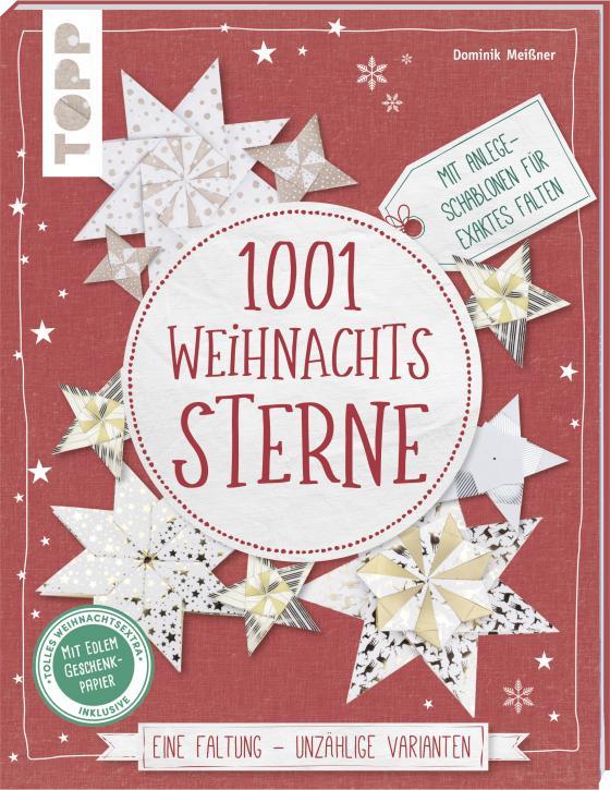 Cover-Bild 1001 Weihnachtssterne (kreativ.kompakt)