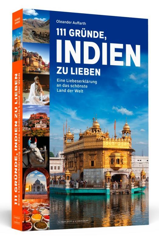 Cover-Bild 111 Gründe, Indien zu lieben