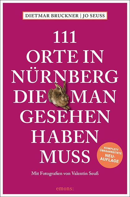 Cover-Bild 111 Orte in Nürnberg, die man gesehen haben muss