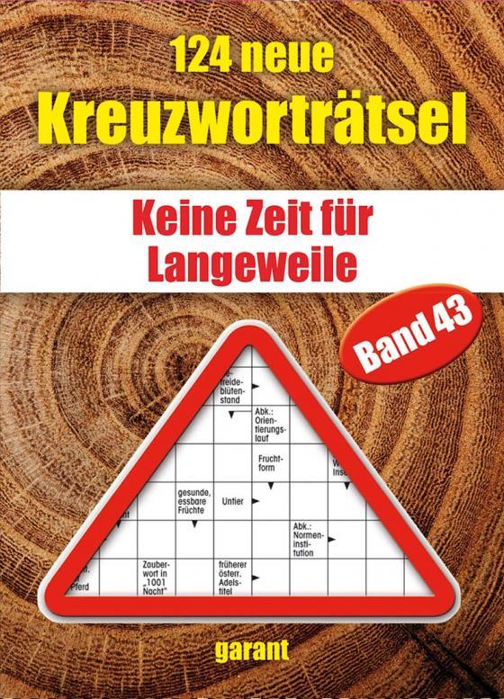 Cover-Bild 124 neue Kreuzworträtsel Band 43