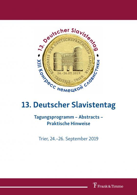 Cover-Bild 13. Deutscher Slavistentag