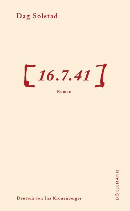 Cover-Bild 16.7.41