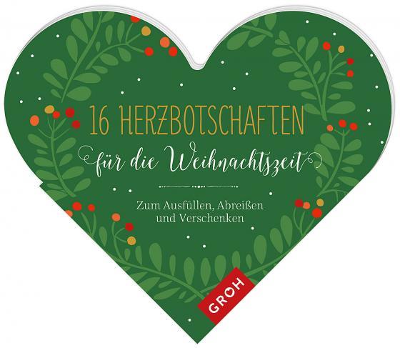 Cover-Bild 16 Herzbotschaften für die Weihnachtszeit