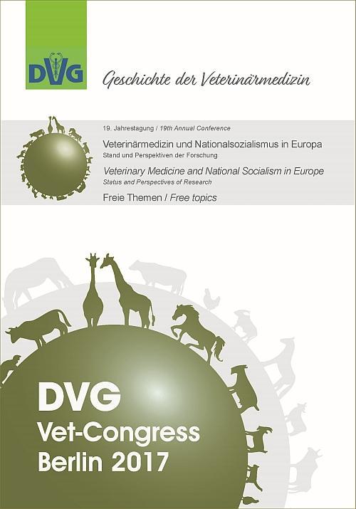 """Cover-Bild 19. Jahrestagung der DVG-Fachgruppe """"Geschichte der Veterinärmedizin"""""""