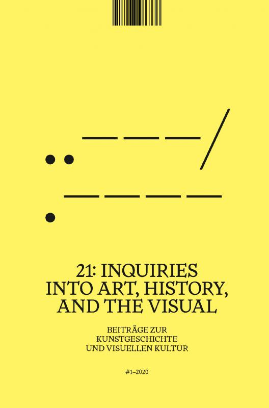 Cover-Bild 21: Inquiries into Art, History, and the Visual