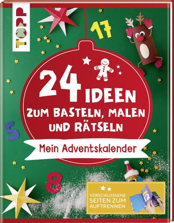 Cover-Bild 24 Ideen zum Basteln, Malen und Rätseln. Mein Adventskalender