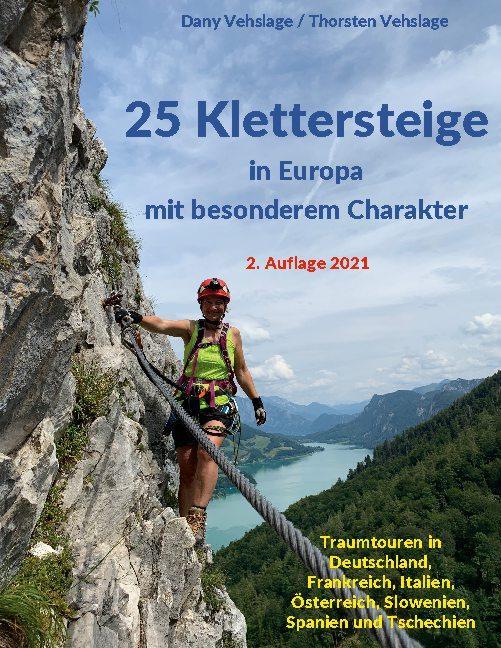 Cover-Bild 25 Klettersteige in Europa mit besonderem Charakter