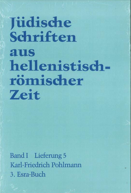 Cover-Bild 3. Esra-Buch