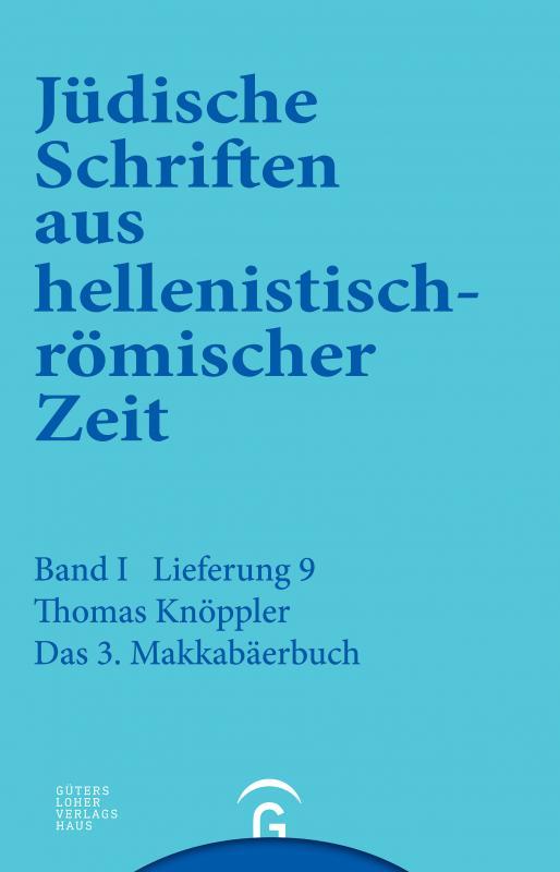Cover-Bild 3. Makkabäerbuch