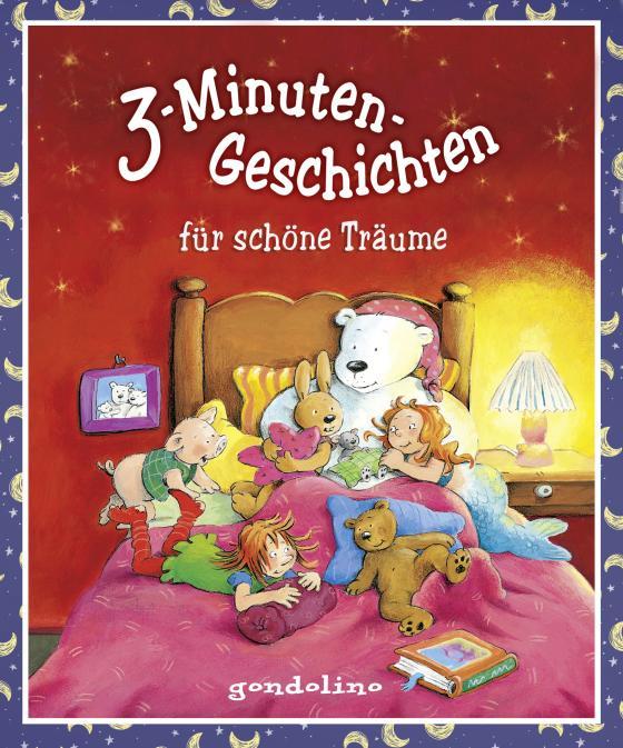 Cover-Bild 3-Minuten-Geschichten für schöne Träume