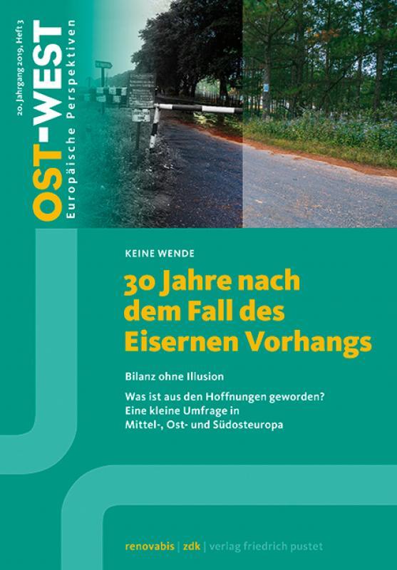 Cover-Bild 30 Jahre nach dem Fall des Eisernen Vorhangs