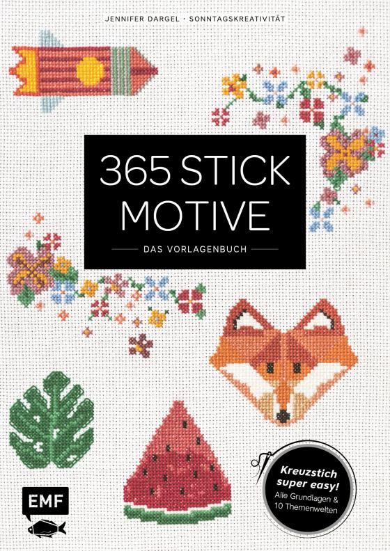 Cover-Bild 365 Stickmotive – Das Vorlagenbuch