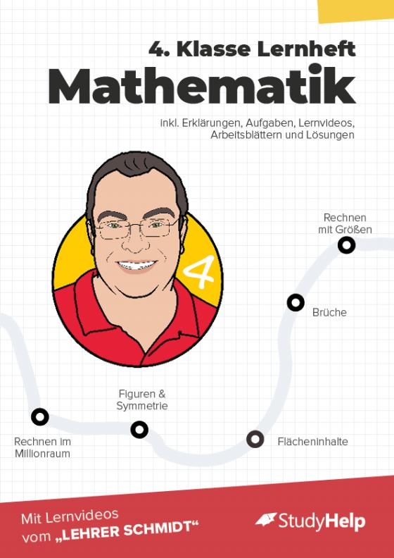 Cover-Bild 4. Klasse Mathematik Lernheft